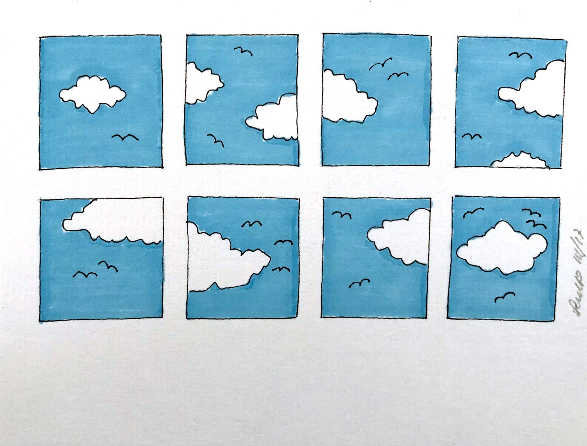nuvolotti disegno
